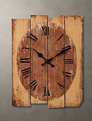 "H15"" Country Style Khaki Wall Clock"