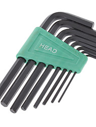 WL-01 1.5mm-6mm Hex Key Wrenches Set 7 In 1