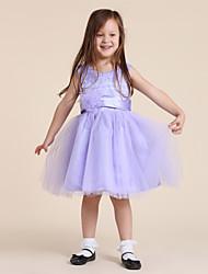 Princesa Estilo Empalme vestido de la muchacha