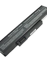 5200mAh substituição da bateria do portátil para gateway squ-715 w350441b w350441b-sb w35052lb M6205m M6206m - Preto