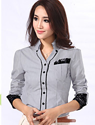 Women's Tops & Blouses , Cotton Casual CHAOLIU