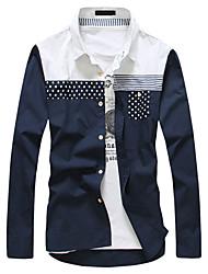 HAOYIFU élégantes épissage Shirts