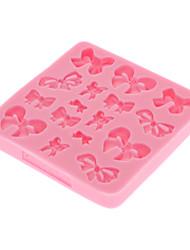 Molde para cozinha/ silicone/ molde de doces/ de bolos/ de chocolate (cor aleatória)