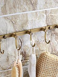 "12""Archaistic Metal Coat Hook(5 Hooks)"