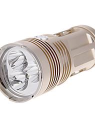 Lampes Torches LED Mode 3000 Lumens Cree XM-L T6 18650Camping/Randonnée/Spéléologie / Usage quotidien / Cyclisme / Voyage / De travail /