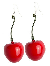Women's Drop Earrings Costume Jewelry Resin Alloy Cherry Fruit Jewelry For Party Daily Casual