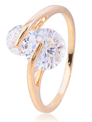 Lureme Zircon Cross Ring