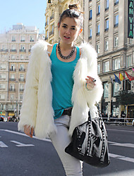 Rabbit Fur Jacket - Lightinthebox.com
