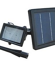 Luz de inundación accionada solar con 30 LEDs de alta luminosidad