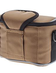 NEW Sepai SP-B607-BR Professional Square Crossbody Shoulder Bag for ILDC Camera Brown