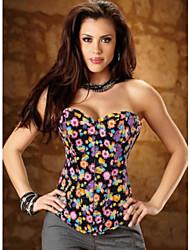 HONGFENGYE Moda Sexy Flower Stampa shapewear
