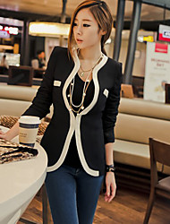 Women's Piping Single Button Blazer