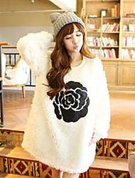 Flor Empalme suéter de la Mujer