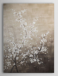 Hand Painted Oil Painting Floral Wintersweet with Stretched Frame 1310-FL1054