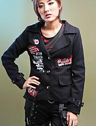 Diable manches longues en coton Punk Lolita Coat