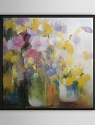 Tipos de flores Naturaleza muerta pintura al óleo enmarcada