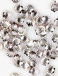 yemannvyou®20pcs Mini 3,5 milímetros de liga bonito decorações de arte shell de unhas (cores sortidas)