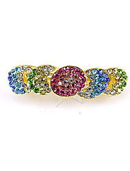 Women's Rhinestone Acrylic Headpiece-Casual Barrette