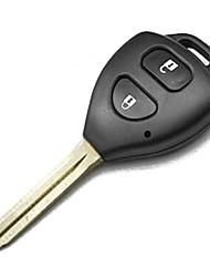 2-Button Remote Key Shell for Toyota Carola