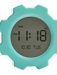 "4""Gear Type Digital Alarm Clock(Color Randomed)"
