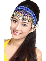 Performance Alloy with Beads Belly Dance Headpiece For Ladies(More Colors)
