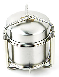 Outdoor Camping Stainless Steel Alcohol Stove