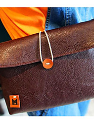 Donna Tote della celebrità su Button sintetico spalla in pelle Croce Corpo Messenger Bag Handbag