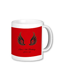 Personalized Angel Wings Mug (More Colors)