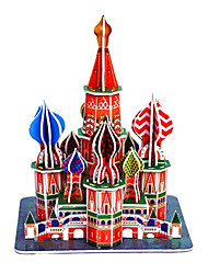 High Class 3D Red Castle Puzzles