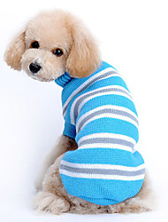 Lovely Blue Classic Stripes Pattern Sweater for Pets Dogs (Assorted Sizes)