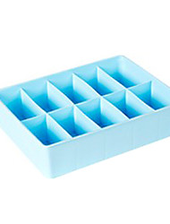 1 Pieces PP Material No Lids Storage Box-2 Colours Available