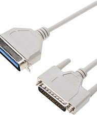 DB25 to DB36 M/F Computer Printer Cable(1.5M)
