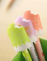 A Bite Of Ice Cream Shaped Ballpoint Pens (Random Color)