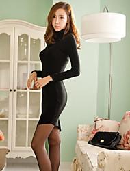 Women's Dresses , Cotton Blend Casual QSYR