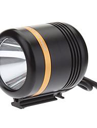 KISU 5-Mode Cree XM-L2 U2 LED torcia elettrica della bicicletta / faro (1230LM, caricatore USB, Black + Gold)