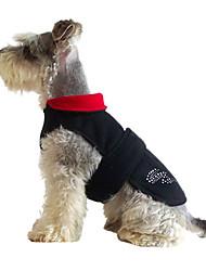 mode geen gesp doggy winter kleding voor huisdieren honden (diverse kleuren, maten)