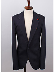 Men'S Special Designed Contrast Color Collar Suit