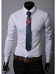 VSKA Мужская Импорт темной полосой футболка с длинным рукавом