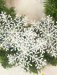 Wedding Décor Christmas Snowflake Sheet Ornament House Decoration - Set of 6