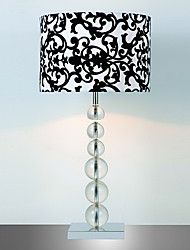 Stylish Artistic Table Lamps With Prints Fabric Shade