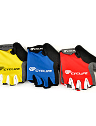 Mountain Cycling Lycra Short Finger Gloves