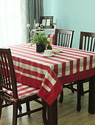 élégant linge de table, polyester, vichy