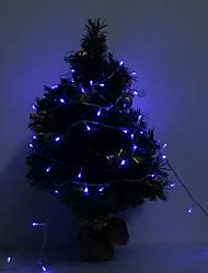 10M 100-LED Blue/Red Light LED Strip Lamp (220V)