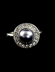 Elegant Alloy With Pearl Women's Ring(More Colors)