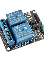 2 Channel 12V Low Level Trigger Relay Module for (For Arduino) (Works with Official (For Arduino) Boards)