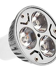 Focos GU5.3 3 W 3 220-250 LM 3000 K Blanco Cálido AC 100-240 V
