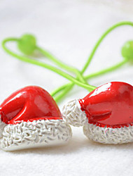 Cute Christmas Santa Claus Hat Style Hair Ring for Pets Dogs