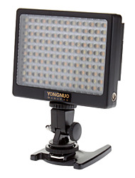 YN140 9W 6000K 1000Lux 140-LED Flash Video Lamp - Black