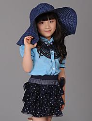 Девушка корейской Короткие рукава тройники