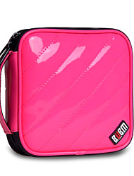 Estilo Moderno PU CD Case (32pcs) -3 colores disponibles